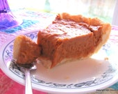 Organic Gluten Free Vegan Caribbean Sweet Potato Pie with Coconut Milk and Pineapple