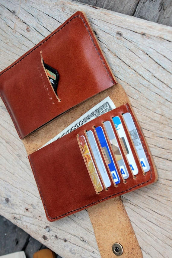 Full option brance brown leather iphone wallet (able to request name stamp)
