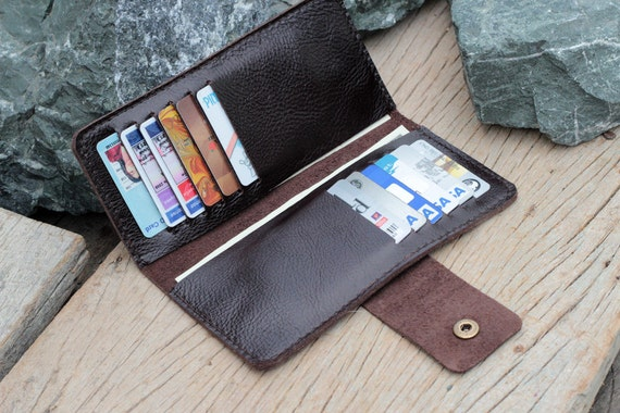 Stairs Soil brown leather wallet