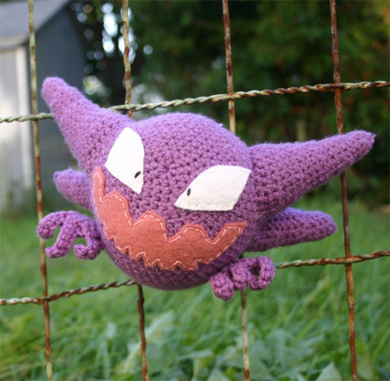 Haunter Pokemon Amigurumi