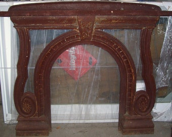 Cast Iron Fireplace surround and Mantle