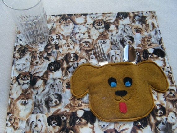 Puppy Childs Placemats