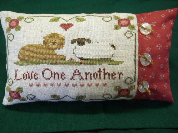 Lion and Lamb Accent Pillow