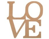 """LAST ONE  Wooden art """" LOVE """" Wall decoration"""