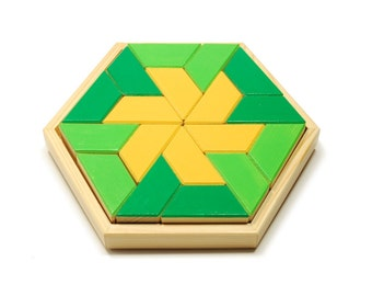 Wooden developing mosaic for kids ''fantasy''