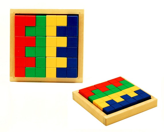 Wooden constructions toy - Corners
