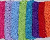 U Choose Crochet Headband-Boutique Hair Bows Baby Bows Hair Clips Hair Accessories Baby Headband Soft Headband Photo Prop U Choose Colors