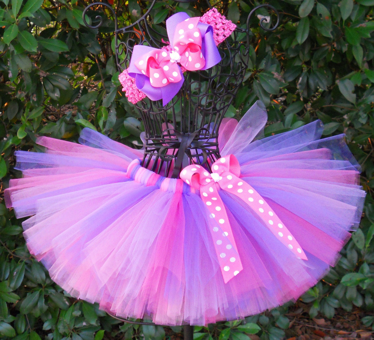 Tutus Tutu: SALE-Baby Tutu Purple Pink Tutu 1st First Birthday Tutu