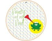 Printable Custom and MECHANICAL 5 Inch Invitation...by Party Like Paula
