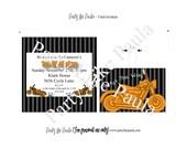 Printable Custom and MECHANICAL 5X7 Invitation...by Party Like Paula
