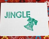 Jingle Liberty Bell Card