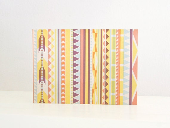 "Eco-friendly Postcard ""Native Pattern"""