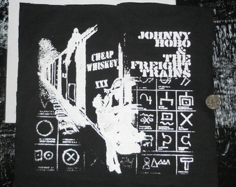 Johnny Hobo and the Freight Trains Back Patch