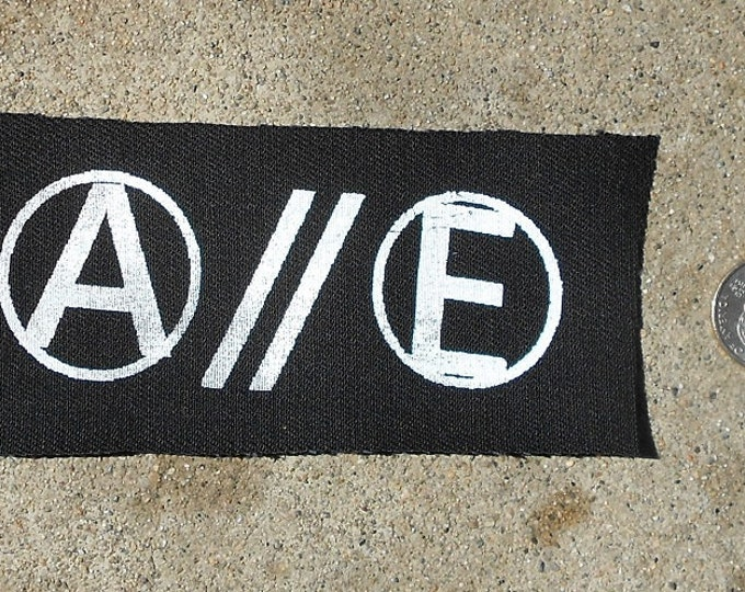 Anarchy/Equality - Punk Patch