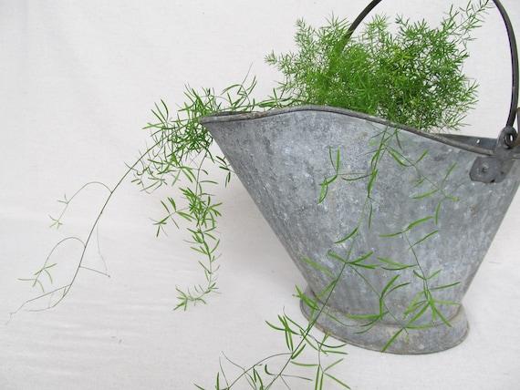 SALE - Antique Coal Bucket