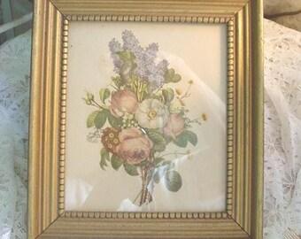 Vintage Print Florals Cottage Farmhouse Chic