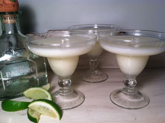 Margarita's Citronella and Lime Hand Poured Candle