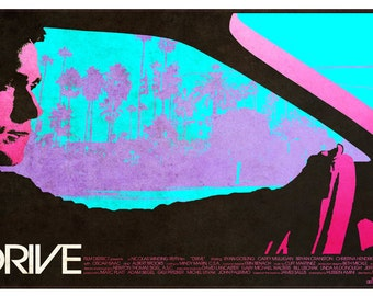 Custom-made DRIVE poster (limited and numbered)