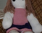 """Knit """"Secret"""" Doll - Rose"""