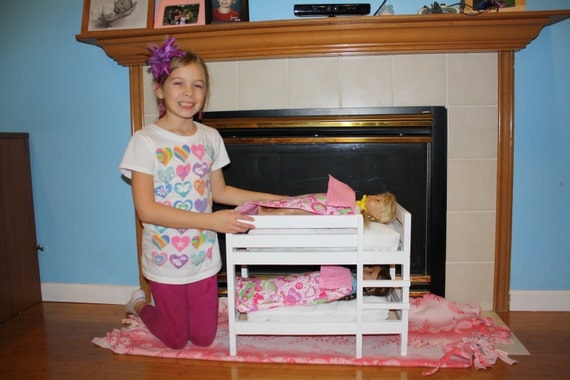 american girl 18 inch doll bunk bed. Black Bedroom Furniture Sets. Home Design Ideas