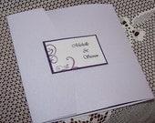 Custom Pocketfold Wedding Invitation - Square