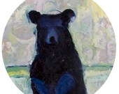 14.5 x 22 Print Limited Edition..Painted Bear..  by Mrs Jade