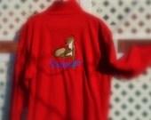 Fleece Jacket Greyhound Embroidery