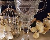 Adorable vintage Teacup Candle Holder set