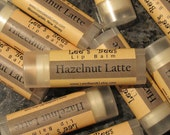 Lip Balm - Hazelnut Latte, One Tube Beeswax Chapstick Lip Salve from Lee the Beekeeper
