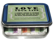 Birthday or Holiday Gift. All Natural Lip Balm Gift Set, Garden of  Delight - 5 Herbal Flavored Beeswax Lip Salve Chapstick