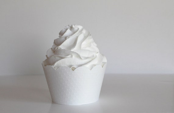 White Cupcake Wrappers