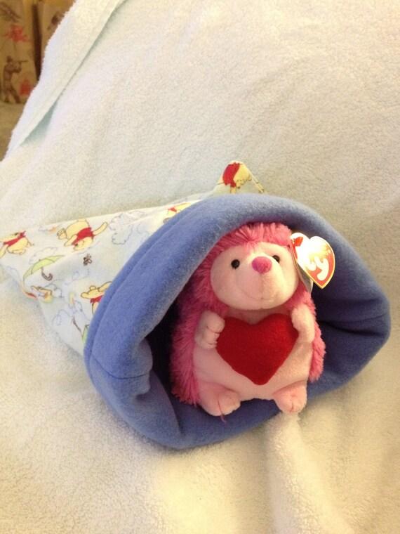 Flannel Pooh Snuggle Bag