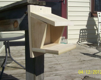 dove and robin nesting houses straight sides