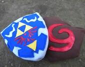 Kokiri/Deku Shield Plush Bag Cosplay
