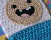 Adventure Time Crochet Finn Scarf