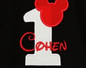 Mickey Birthday Shirt, Boys Birthday Shirt, Girls Birthday Shirt, Custom Birthday Shirt, Personalized Birthday Shirt, Birthday Shirt, Gift