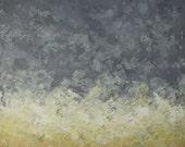Yellow over Gray, 24 x 36, Original Painting