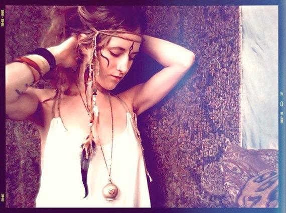 RESERVED for TARA americana summer.  a tribal headdress. 'made to order '