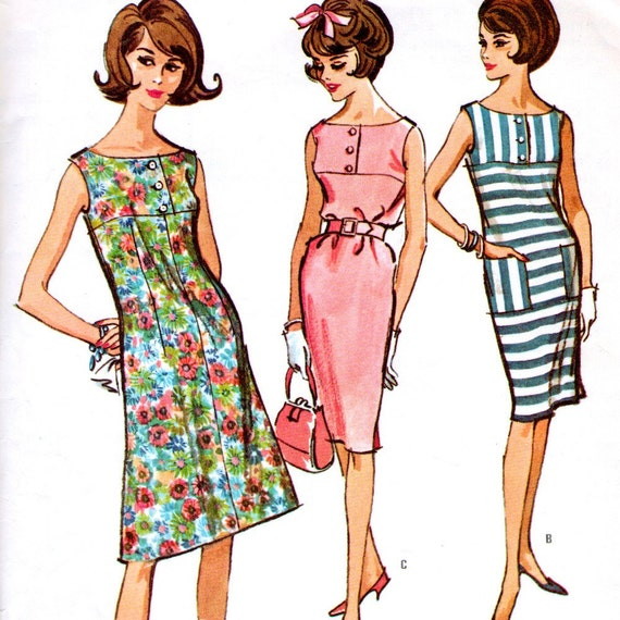 McCall's 7171 sewing pattern // Misses' Dress ''Easy to Sew''