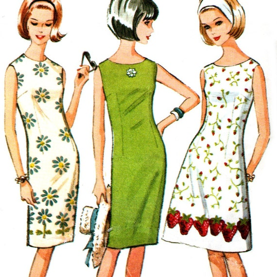McCall's 7641 sewing pattern // Misses' Slim and A Line Dress ''Adjust - For - You''