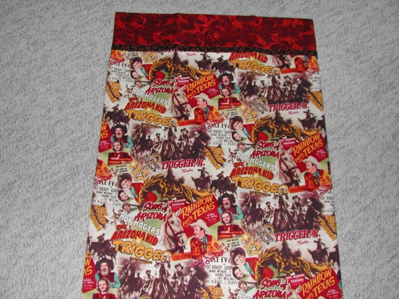 Roy Rogers Movie Poster Pillow Case