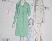 Vintage Sewing Pattern - Vogue 6388, Size 10, Bust 31, Hip 33