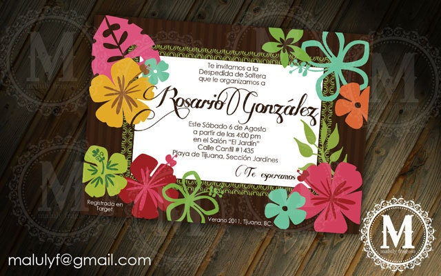 hawaiian baby shower bridal shower party by lfragoso on etsy