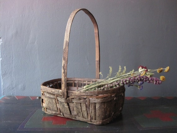 primitive country basket