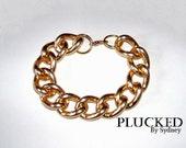 Chunky Gold Chain Bracelet