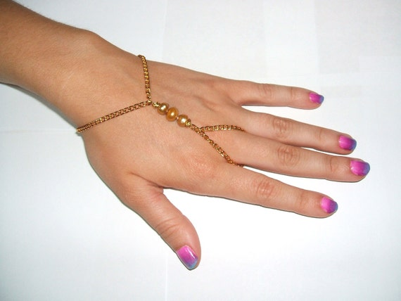 gold pearl hand piece