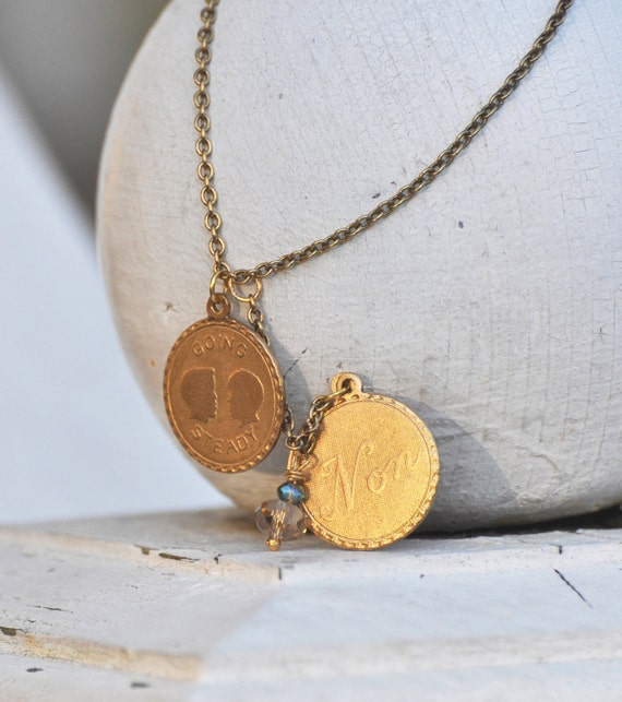 Oui Non / Going Steady Gold Necklace