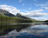 Honeymoon Lake in Banff National Park, Alberta - photographic print