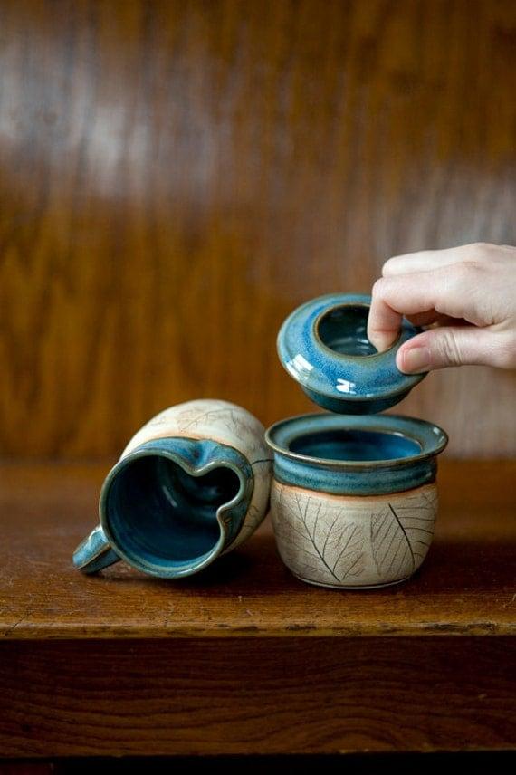 Woodland Sugar Jar