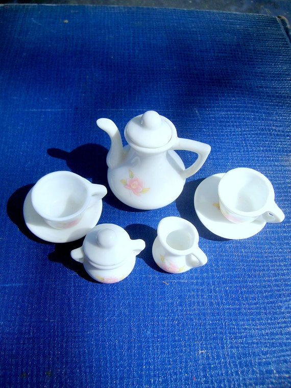 Tiny Tea for Two  Vintage 1950s